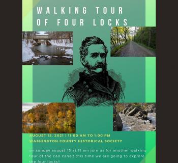 Walking Tour of Four Locks poster Photo
