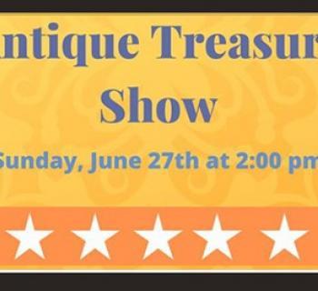 Antique Treasure Show poster Photo