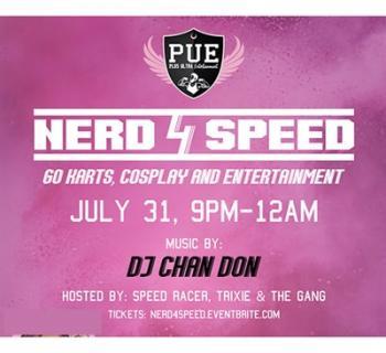 Nerd4Speed Go Kart Cosplay Party Photo