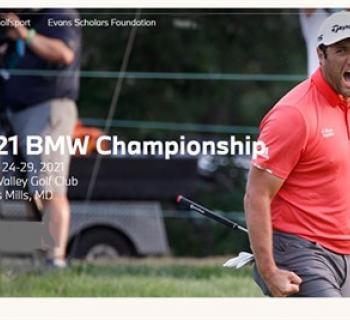 2021 BMW Championship poster Photo