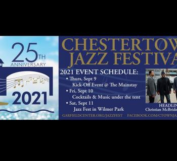 2021 Chestertown Jazz Festival poster Photo