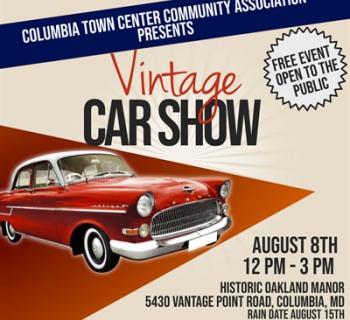 Vintage Car Show Photo