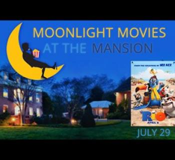 Moonlight Movies at the Mansion poster Photo