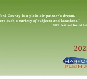 2021 Harford Plein Air Green Poster Photo