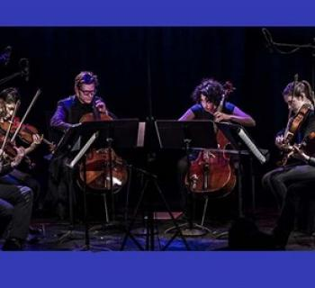 The American Contemporary Music Ensemble (ACME) playing on stage Photo