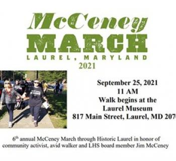 McCeney March event poster Photo