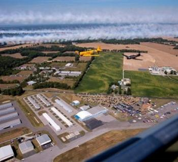 Easton Airport Day from the sky Photo