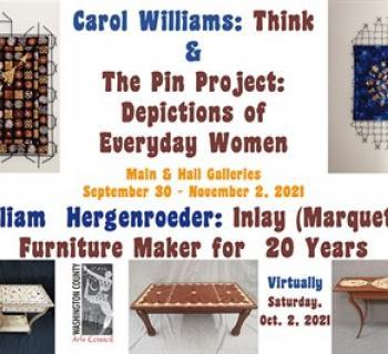 October 2021 Exhibits by Carol Williams & William Hergenroeder Photo