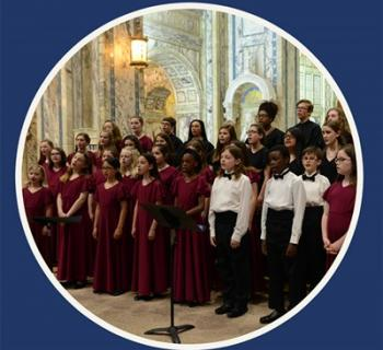 Children's Chorus of Maryland performing on stage Photo