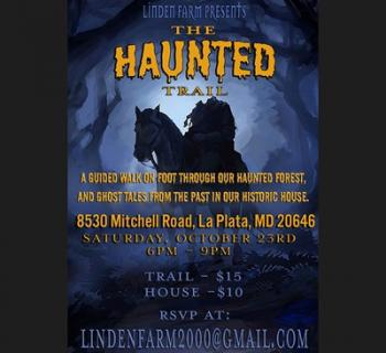 Haunted Trail Walk & Historic House Tour poster  Photo