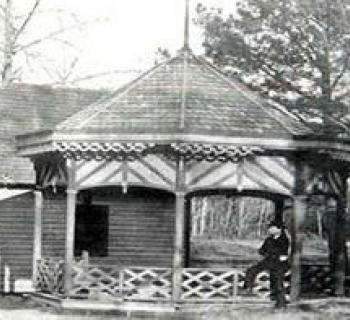 Historic Spring House in the Barren Creek Springs Complex Photo