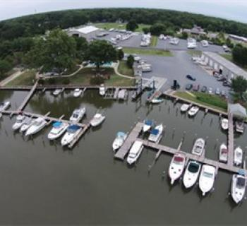 Hidden Harbour Marina aerial view Photo