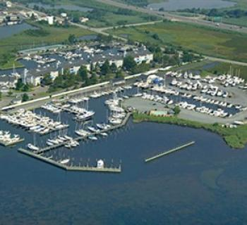 Aerial view of Lippincott Marine  Photo