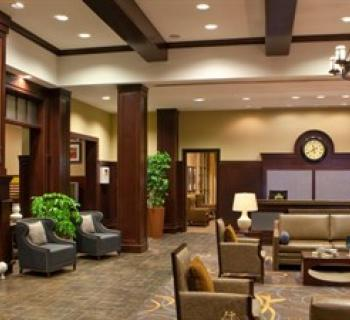 Sheraton Baltimore Washington Airport Hotel-BWI lobby area Photo
