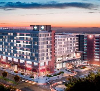 The Hotel at The University of Maryland exterior view Photo