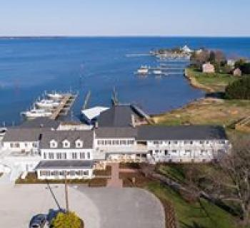 Wylder Hotel Tilghman Island aerial view Photo