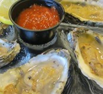 Oyster platter Photo