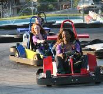 Go-kart racing at Smiley's Fun Zone Photo