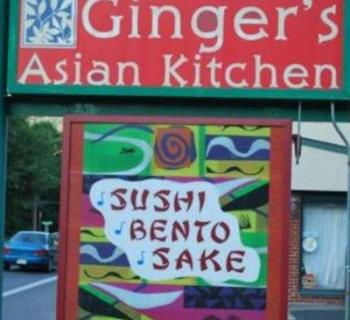 Ginger's Asian Kitchen signage Photo