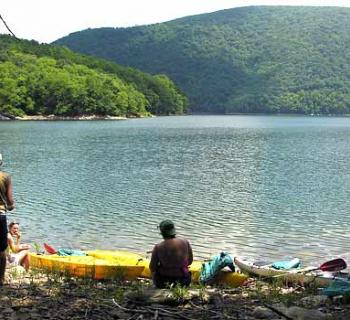 Kayak tour on Youghiogheny River Photo
