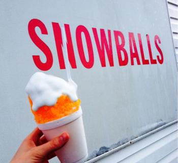 The Snowball Stand Photo