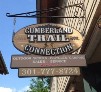 Cumberland Trail Connection entrance sign Photo