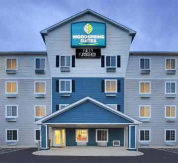 Woodspring Suites Andrews AFB front view Photo