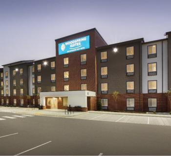 Woodspring Suites front view Photo