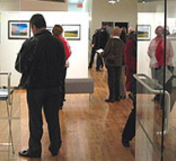 The Saville Gallery within the Allegany Arts Council Photo