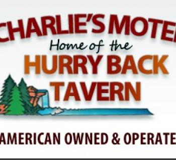 Charlie's Motel signage Photo