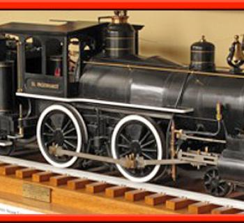 Train at Garrett County Historical Museum Photo
