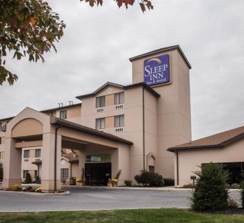 Sleep Inn & Suites-Hagerstown exterior Photo