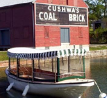 Cushwa's Coal and Brick warehouse along the Cushwa's Basin Photo