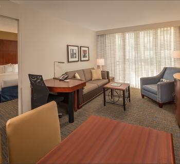 Residence Inn by Marriott-Bethesda Hotel Downtown interior Photo