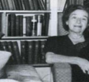 Psychiatrist Frieda Fromm-Reichmann Photo
