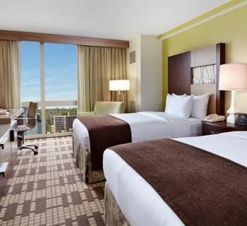 Guest room (double) at DoubleTree by Hilton-Washington, DC/Silver Spring Photo