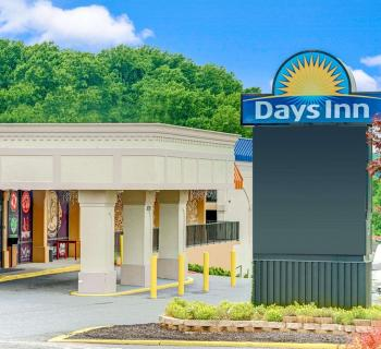 Days Inn-Towson exterior view Photo