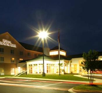Hilton Garden Inn-Solomons night exterior view Photo