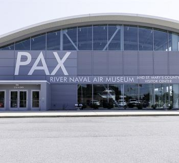 Exterior of the Patuxent River Naval Air Museum and Visitor Center Photo