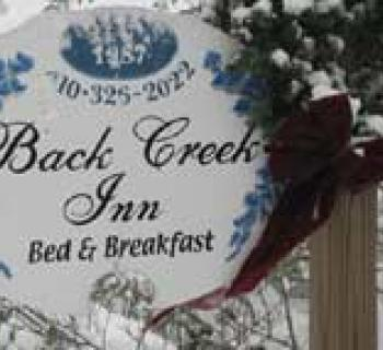 Back Creek Inn signage Photo