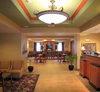 Hampton Inn-Easton lobby Photo