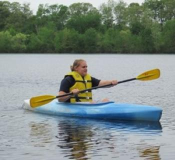 Kayaking at Tuckahoe State Park Photo