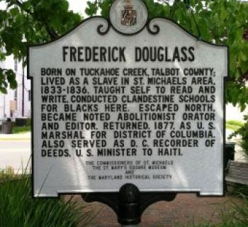 Frederick Douglass Marker Photo