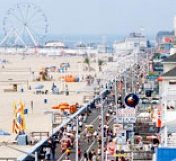 Ocean City Boardwalk photo Photo