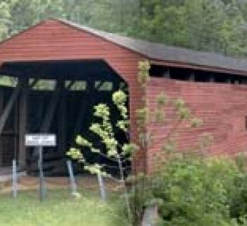 Gilpin's Falls Covered Bridge Photo