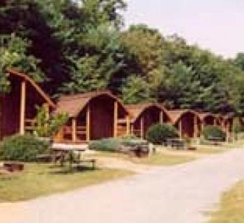 Cabins at KOA Kampground Photo