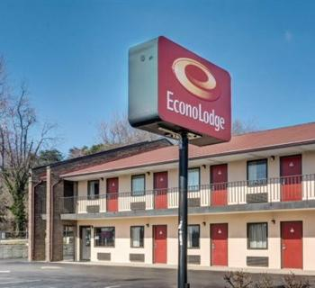 Econo Lodge-Laurel Racetrack exterior Photo