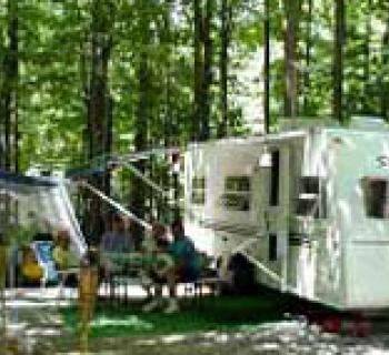Camping site at Goose Bay Campground Photo