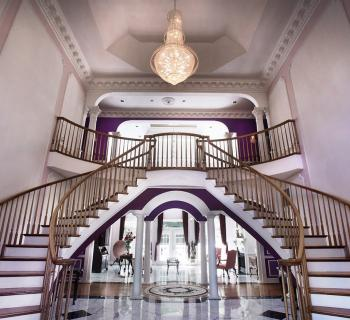 Rosewood Manor staircase Photo