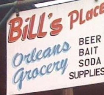 Bill's Place signage Photo